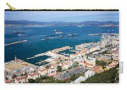 Gibraltar Town And Bay Carry-all Pouch