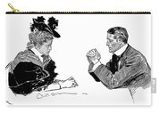 Gibson: Couple, 1896 Carry-all Pouch