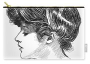 Gibson: Gibson Girl, C1904 Carry-all Pouch
