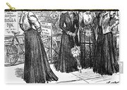 Gibson Girl, 1890s Carry-all Pouch