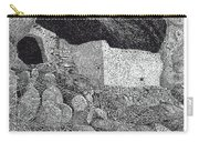 Gila Cliff Dwelings Big Room Carry-all Pouch