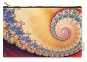 Gilded Swirl Carry-all Pouch