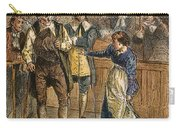 Giles Corey, 1692 Carry-all Pouch