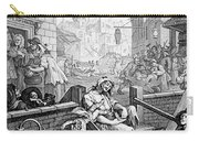 Gin Lane, William Hogarth Carry-all Pouch