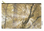 Ginkgo Tree With Sunlight Streaming Carry-all Pouch