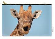 Giraffe Calling Carry-all Pouch
