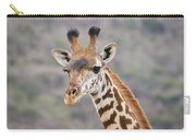 Giraffe Close-up Carry-all Pouch