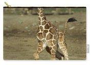 Giraffe Giraffa Camelopardalis Juvenile Carry-all Pouch