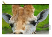 Giraffe In The Park Carry-all Pouch