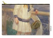 Girl In A Sailor Suit Carry-all Pouch