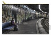 Girl In Station Carry-all Pouch by Joana Kruse