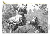 Girl On Swing, 1873 Carry-all Pouch