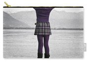 Girl On The Shores Of Lake Maggiore Carry-all Pouch