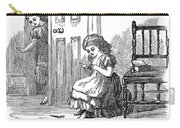 Girl Sewing, 1873 Carry-all Pouch