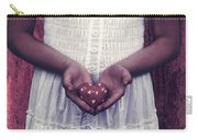 Girl With A Heart Carry-all Pouch