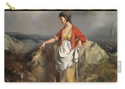 Girl With A Pitcher Carry-all Pouch by PF Poole