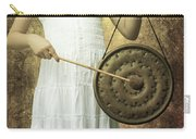 Girl With Gong Carry-all Pouch