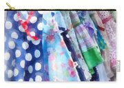Girl's Dresses At Street Fair Carry-all Pouch