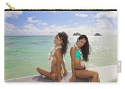 Girls On A Paddle Board Carry-all Pouch