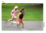 Girls Running Carry-all Pouch