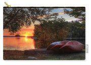 Give Me A Canoe Carry-all Pouch by Lori Deiter