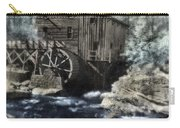 Glade Creek Mill In Infrared. Carry-all Pouch