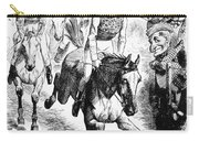 Gladstone & Disraeli, 1867 Carry-all Pouch