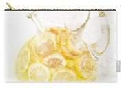 Glass Pitcher Of Lemonade Carry-all Pouch