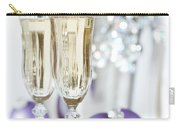 Glasses Of Champagne Carry-all Pouch by Amanda Elwell