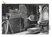 Glassworker, 19th Century Carry-all Pouch