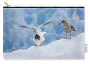 Glaucous-winged Gull Larus Glaucescens Carry-all Pouch