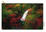 Glenoe Waterfall And Glen, Co Antrim Carry-all Pouch