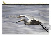 Gliding Snowy Egret Carry-all Pouch