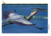 Gliding Great Blue Heron Carry-all Pouch