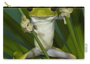 Gliding Leaf Frog Agalychnis Spurrelli Carry-all Pouch