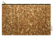 Glistening Gold Prairie Grass Abstract Carry-all Pouch