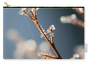 Glistening Ice Crystals Carry-all Pouch
