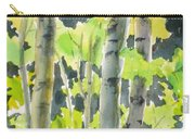 Glittering Poplars Carry-all Pouch