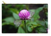 Globe Amaranth Bicolor Rose Carry-all Pouch