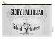Glory, Hallelujah Carry-all Pouch by Photo Researchers