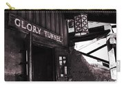 Glory Tunnel Mine Entrance In Calico California Carry-all Pouch by Susanne Van Hulst