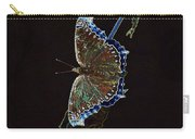 Glowing Butterfly Carry-all Pouch