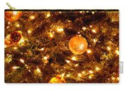 Glowing Golden Christmas Tree Carry-all Pouch