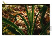 Glowing Iris Plant 3 Carry-all Pouch