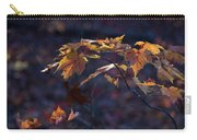 Glowing Maple Leaves Carry-all Pouch