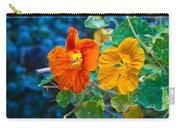 Glowing Nasturtiums 1 Carry-all Pouch