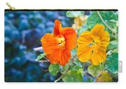 Glowing Nasturtiums 2 Carry-all Pouch