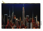 Glowing New York Carry-all Pouch