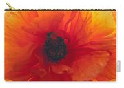 Glowing Poppy Carry-all Pouch