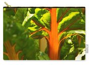 Glowing Swiss Chard Carry-all Pouch